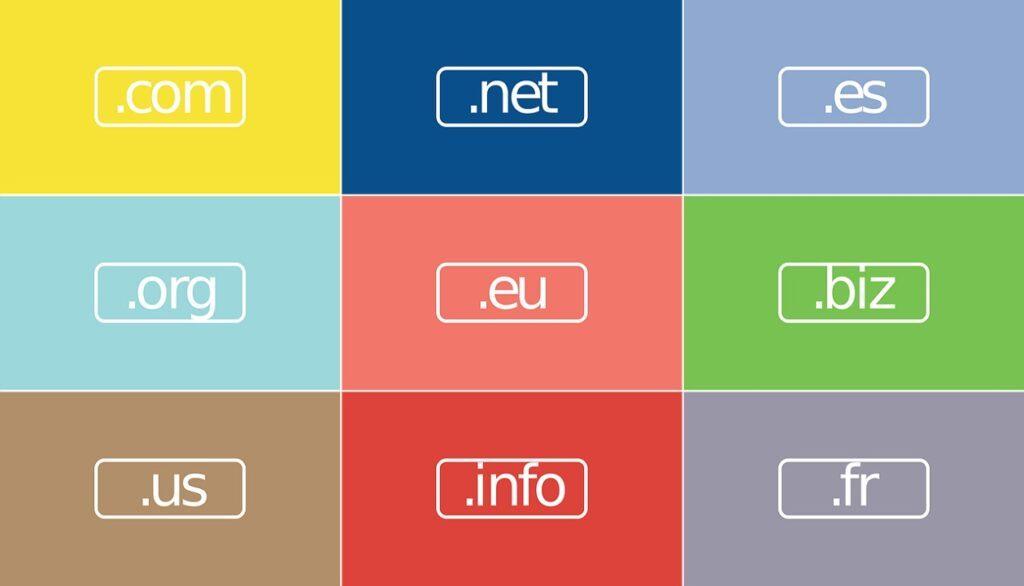 Jenis Ekstensi Domain