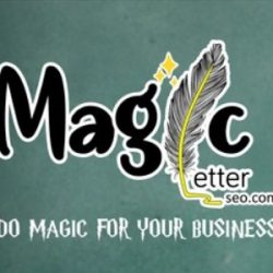Logo Magic Letter